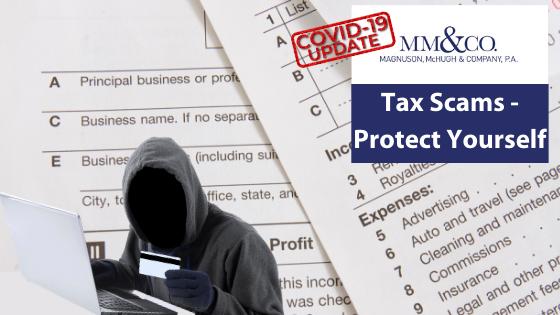 Tax scam - protect yourself