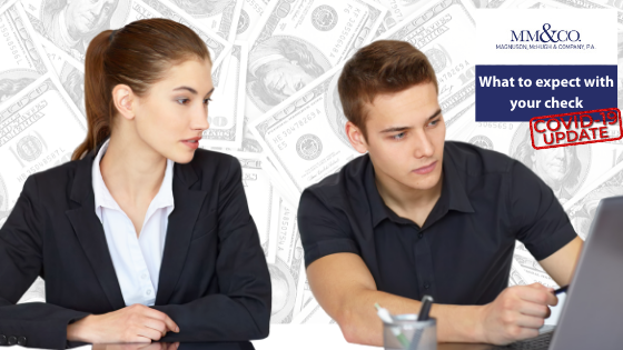 What to Expect with Your Check